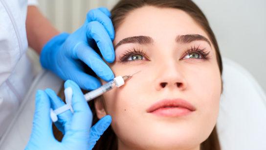 injection filler eye cosmetic aesthetic
